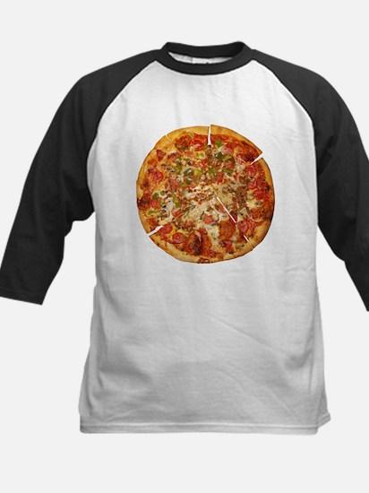 Thank God for Pizza Kids Baseball Jersey