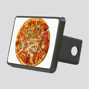 Thank God for Pizza Rectangular Hitch Cover
