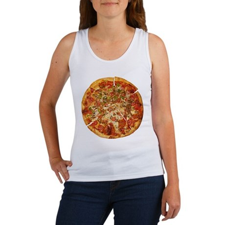 Thank God for Pizza Women's Tank Top