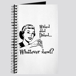 Wined and Dined Journal