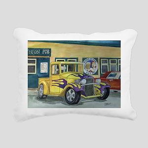 1932 HotRod Pickup Rectangular Canvas Pillow