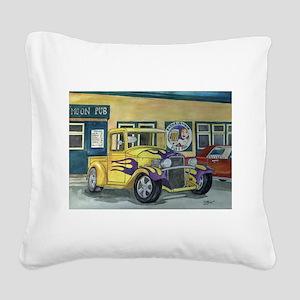 1932 HotRod Pickup Square Canvas Pillow