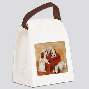 Pianopups enlarged Canvas Lunch Bag