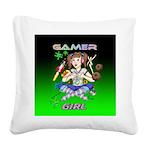 gamergirlsquare Square Canvas Pillow