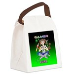 gamergirlsquare Canvas Lunch Bag