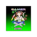 gamergirlsquare Square Sticker 3