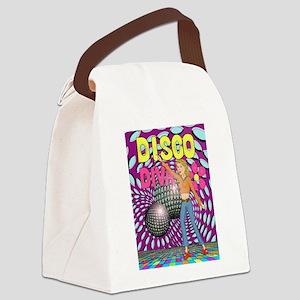 Disco Diva Canvas Lunch Bag