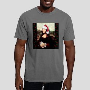Christmas Mona Lisa Wear Mens Comfort Colors Shirt