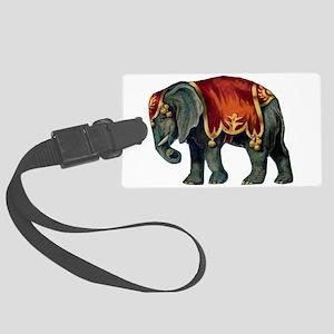 elephant Large Luggage Tag