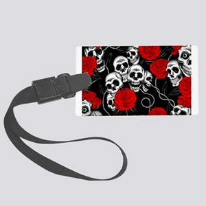 Cool Kids Skulls and Roses Designs Large Luggage T