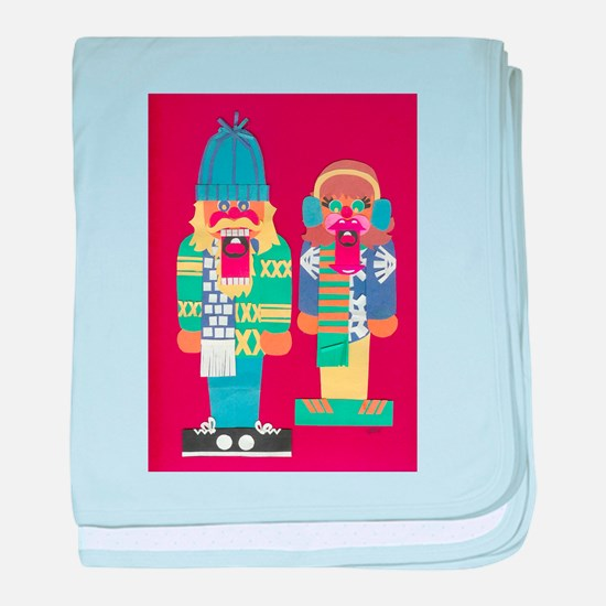 The Nutcrackers baby blanket