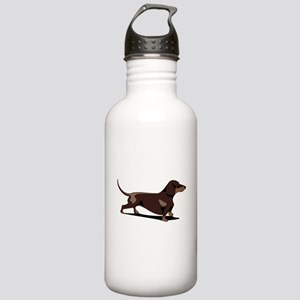 Short-haired Dachshund Stainless Water Bottle 1.0L