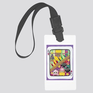 Pair of Cards Large Luggage Tag