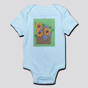 Flower Basket Infant Bodysuit