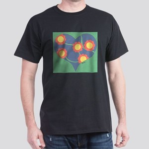 Flower of My Heart Dark T-Shirt
