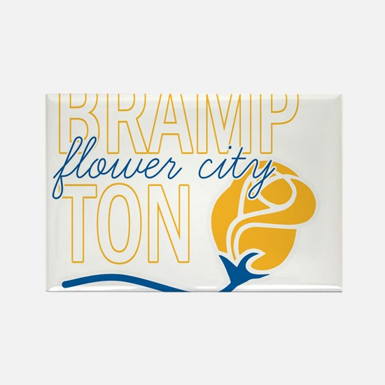 Brampton Flower City Rectangle Magnet