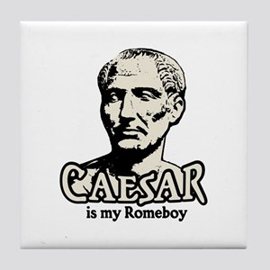 Caesar Romeboy Tile Coaster