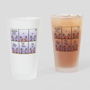 Cartoon Prophet Drinking Glass