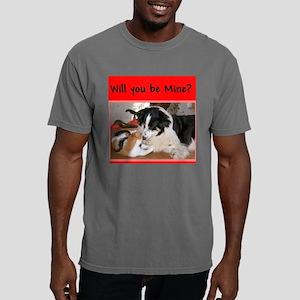 Lady-cat Mens Comfort Colors Shirt