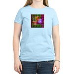 Op Art 4 Women's Pink T-Shirt