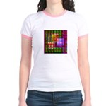 Op Art 4 Jr. Ringer T-Shirt