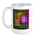 Op Art 4 Large Mug