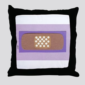 Ouch! Throw Pillow