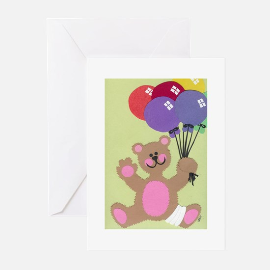 Get Well Teddy Greeting Cards (Pk of 10)