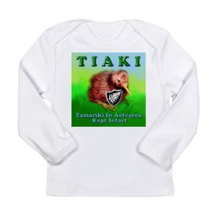 TIAKI-kiwi Long Sleeve Infant T-Shirt