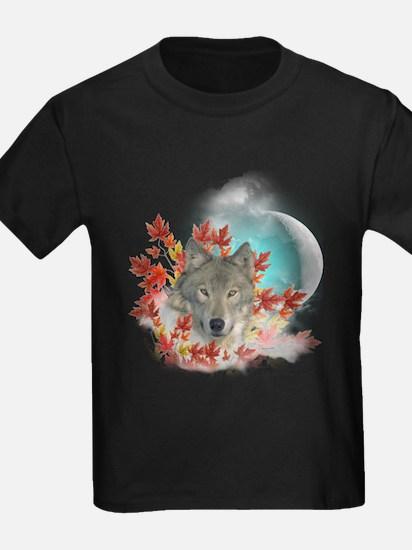Wolf Harvest Moon T