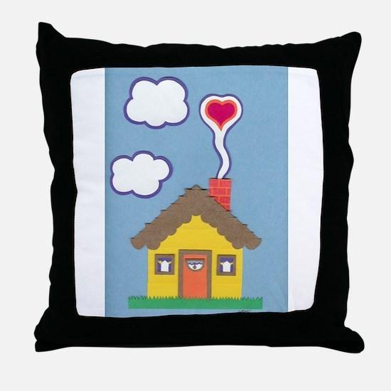 Hearth & Heart Throw Pillow