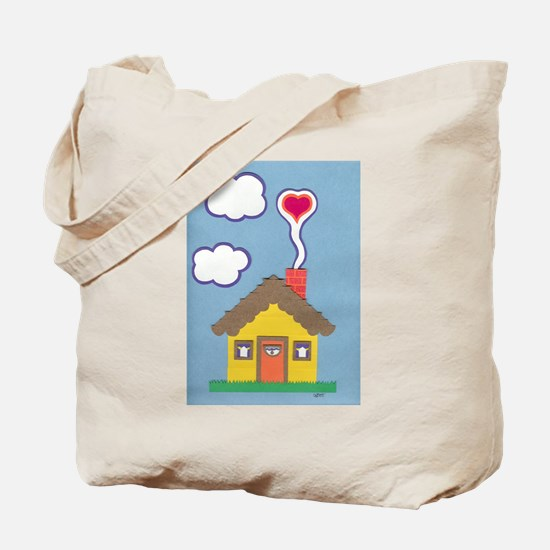 Hearth & Heart Tote Bag