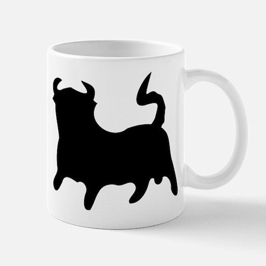 Black Bull Mug