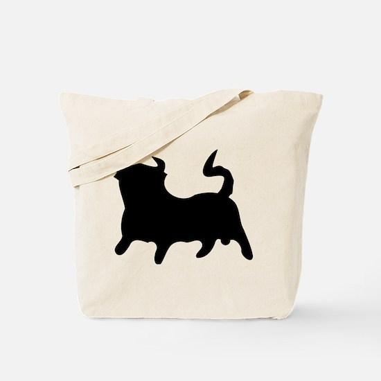 Black Bull Tote Bag