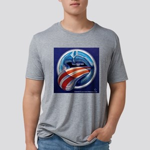 Oblahma Obama Logo Mens Tri-blend T-Shirt