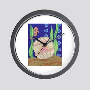 Pearl & the Oyster Wall Clock
