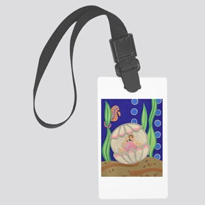 Pearl & the Oyster Large Luggage Tag