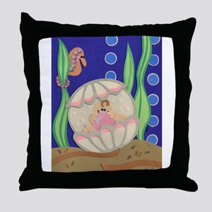 Pearl & the Oyster Throw Pillow
