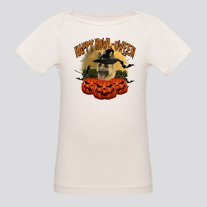 Happy Halloween Shepherd Organic Baby T-Shirt
