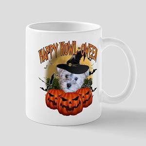 Happy Halloween Schnoodle Mug