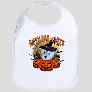 Happy Halloween Schnoodle Bib