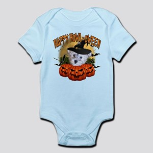 Happy Halloween Schnoodle Infant Bodysuit