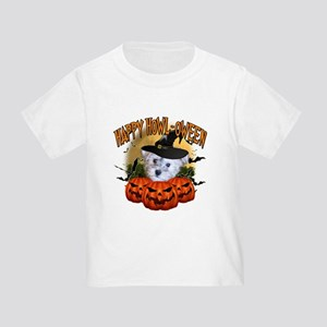 Happy Halloween Schnoodle Toddler T-Shirt