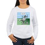 Elephant Tracking Women's Long Sleeve T-Shirt