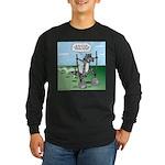 Elephant Tracking Long Sleeve Dark T-Shirt
