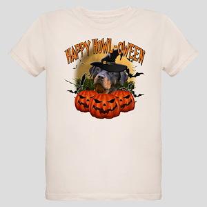 Happy Halloween Rottweiler Organic Kids T-Shir