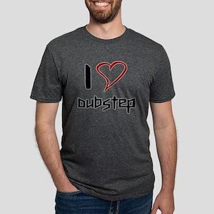 I love Dubstep Mens Tri-blend T-Shirt