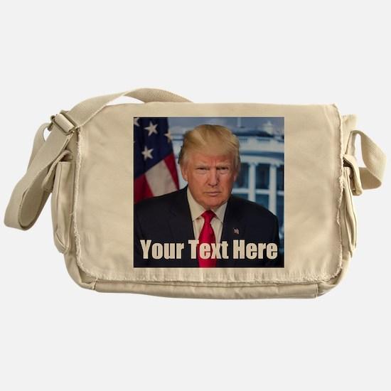 President Donald Trump Messenger Bag