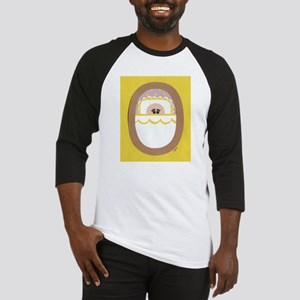 Yellow Polka-Dot Baby Baseball Jersey