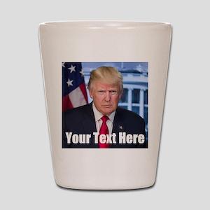 President Donald Trump Shot Glass